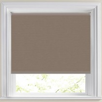 Abbey Blackout Taupe Roller Blind