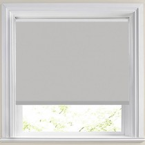Abbey PVC Grey Roller Blind