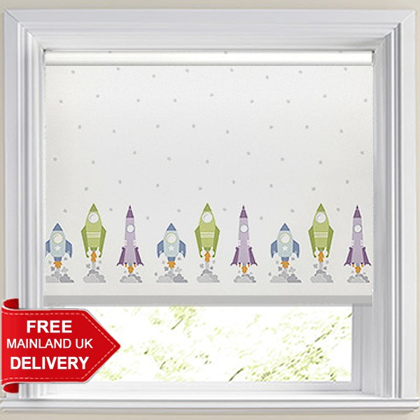 Blast Off Starlight Blackout Roller Blind