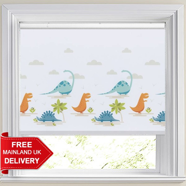Dino Valley Adventure Blackout Roller Blind