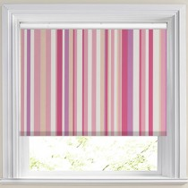 Funky Stripe Candy Blackout Roller Blind