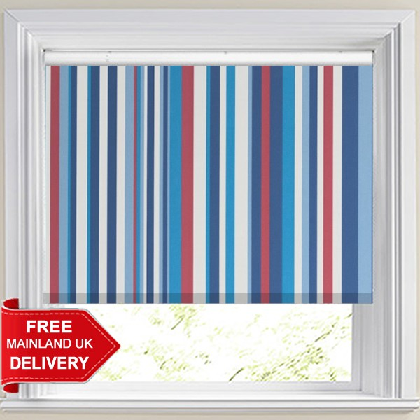Funky Stripe Sky Blackout Roller Blind