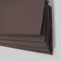 Oasis Cocoa Roman Blind
