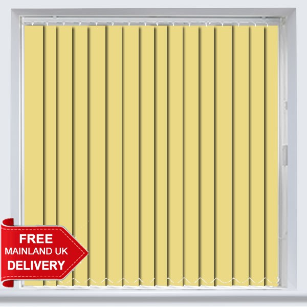 Abbey Pvc Buttercup Vertical Blind