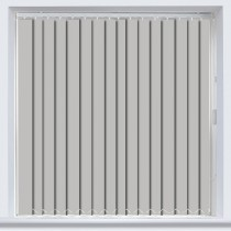 Abbey PVC Grey Vertical Blind