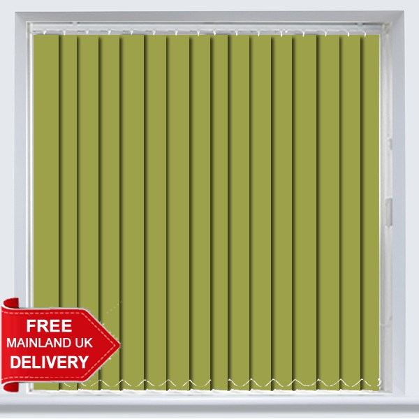 Abbey PVC Lime Vertical Blind